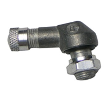 GMoto 90 Degree TR25AL Aluminium Valve - For European Bikes