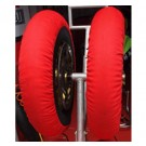 Nova Tyre Warmers - Rookie (Red) - Fixed Temperature